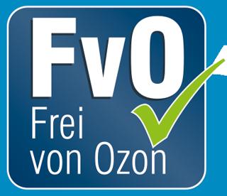 Frei von Ozon